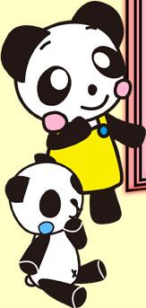 パンダたち1